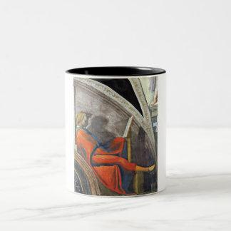 The ancestors of Christ - David Two-Tone Coffee Mug