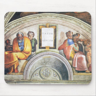The Ancestors of Christ: Jacob, Joseph, 1512 Mouse Pad