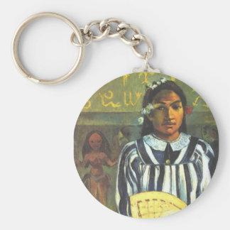 The Ancestors of Tehamana - Paul Gauguin Keychain