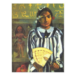 The Ancestors of Tehamana - Paul Gauguin Postcard