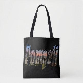 The ancient city of Pompeii bag