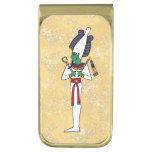 The Ancient Egyptian God Osiris Gold Finish Money Clip