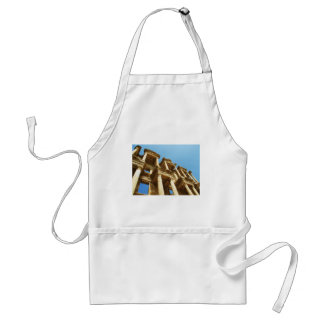 The Ancient Library of Celsus in Ephesus - photo Adult Apron