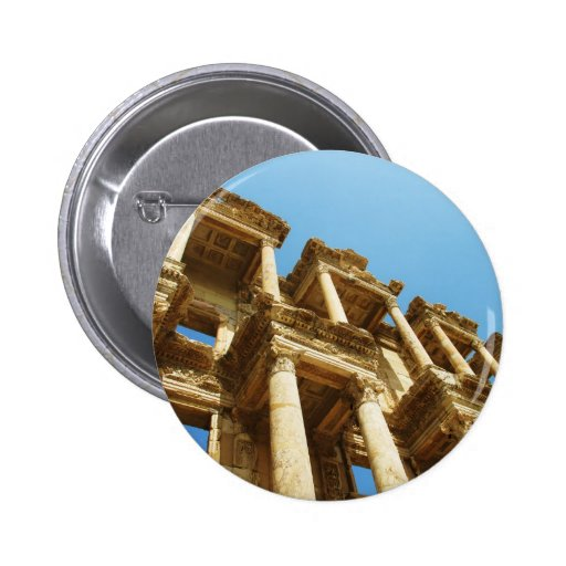 The Ancient Library of Celsus in Ephesus - photo Buttons