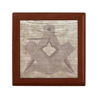 The Ancient Mason Jewelry Box