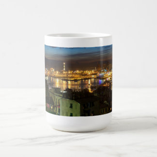 The ancient port in Genova, Italy Coffee Mug