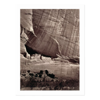 The Ancient Ruins of the Canyon de Chelle, 1873 (a Postcard