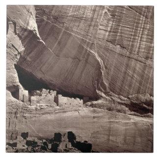The Ancient Ruins of the Canyon de Chelle, 1873 (a Tile