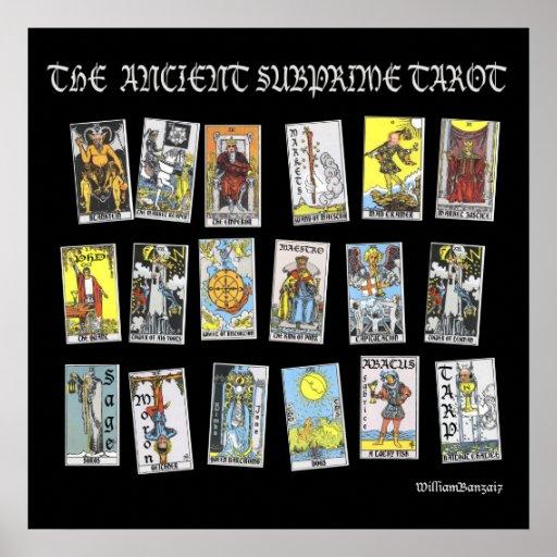 The Ancient Subprime Tarot Poster