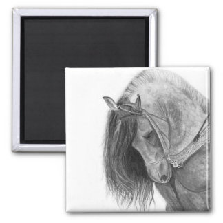 The Andalusian 2 Inch Square Magnet