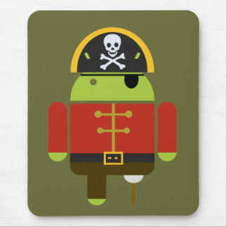 The Android Pirate Mousepad