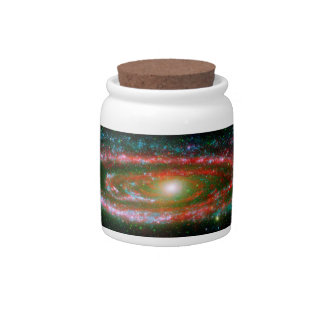 The Andromeda Galaxy Candy Dishes