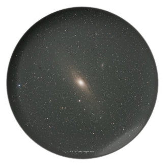 The Andromeda Galaxy Dinner Plate