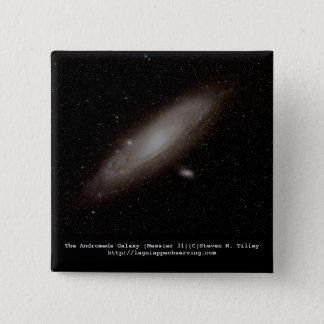 The Andromeda Galaxy (M31) Button