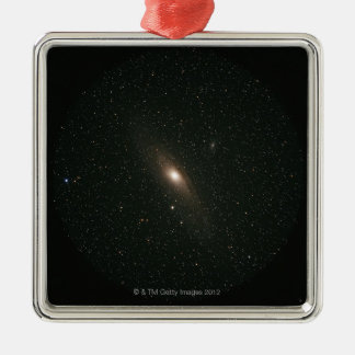 The Andromeda Galaxy Metal Ornament