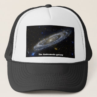 The Andromeda galaxy Trucker Hat