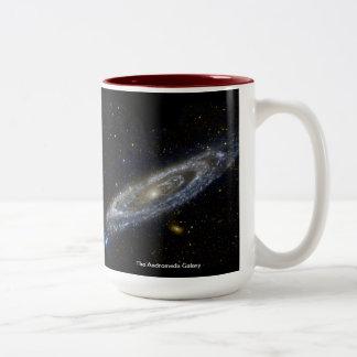 The Andromeda Galaxy Two-Tone Coffee Mug