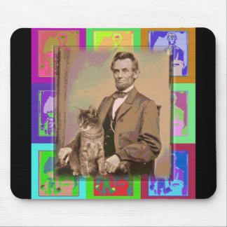 The Andy   Abraham Lincoln Mouse Mat