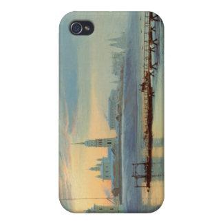 The Angara Embankment in Irkutsk, 1886 iPhone 4/4S Cases