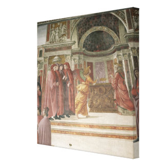 The Angel appearing to St. Zacharias in the Stretched Canvas Prints