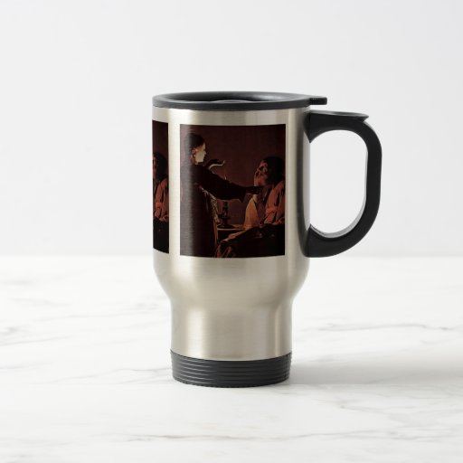 The Angel Appears To St. Joseph In A Dream 15 Oz Stainless Steel Travel Mug