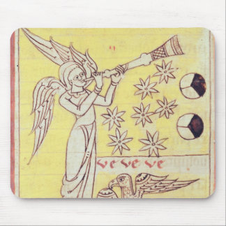 The Angel Blowing the Trumpet Mouse Pad
