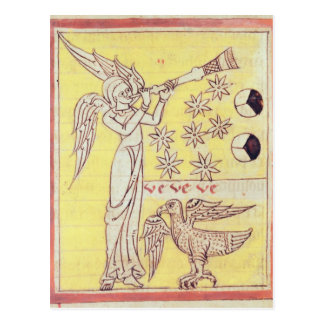 The Angel Blowing the Trumpet Postcard