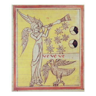 The Angel Blowing the Trumpet Poster