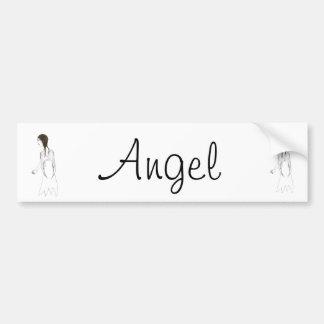 The Angel Bumper Sticker