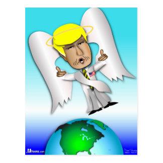The Angel Donald Postcard