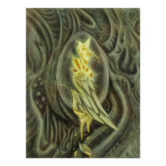 The Angel Egg Print
