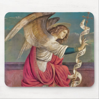 The Angel Gabriel Mouse Pad