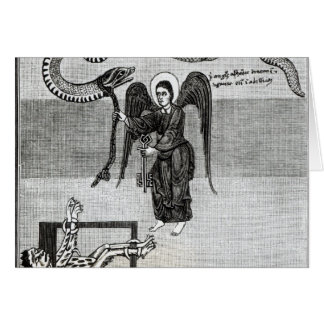 The Angel, holding the Keys of Hell Card