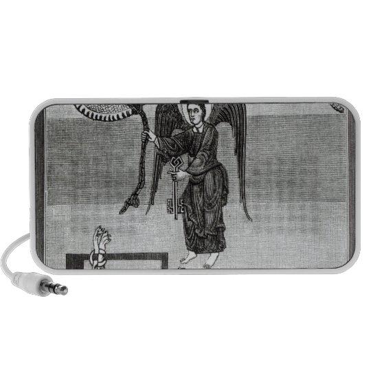 The Angel, holding the Keys of Hell Mini Speaker