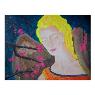 """The Angel in February"" Postcard"