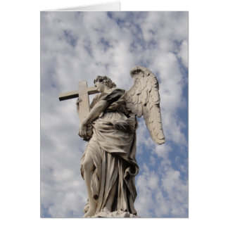 The angel of Castel Sant Angelo Greeting Cards