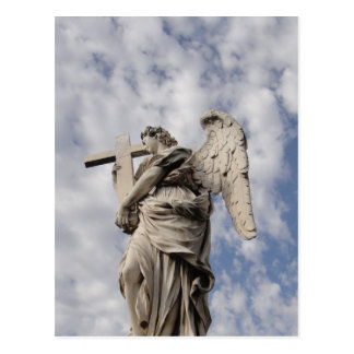The angel of Castel Sant Angelo Post Card