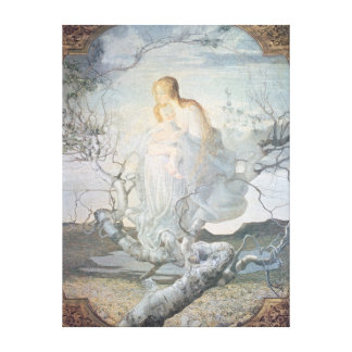 The Angel of Life, 1894 Canvas Print