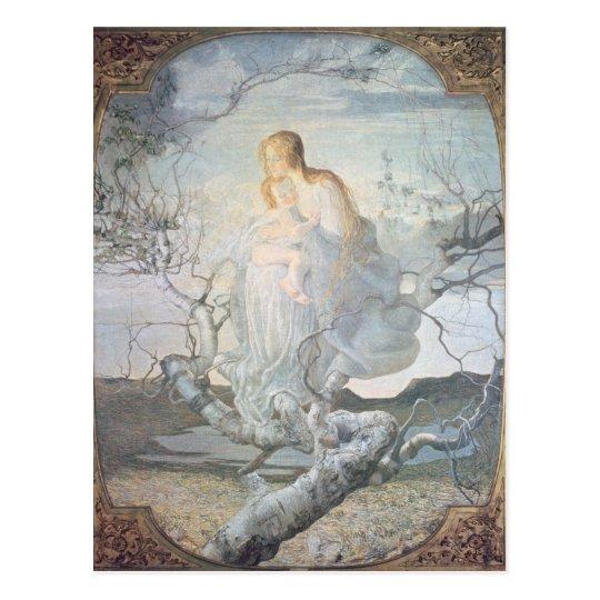 The Angel of Life, 1894 Postcard