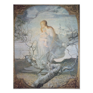 The Angel of Life, 1894 Poster