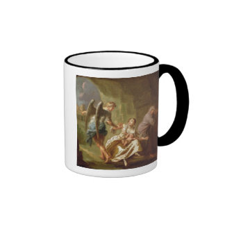 The Angel of Mercy, c.1746 (oil on canvas) Ringer Coffee Mug