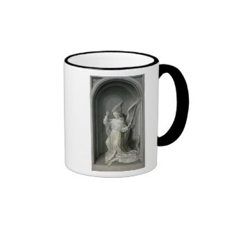 The Angel of the Annunciation Ringer Coffee Mug