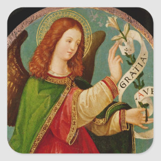 The Angel of the Annunciation Square Sticker