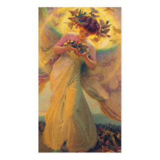 The Angel of the Birds Franz Dvorak 1910 Business Card