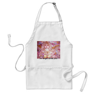 The angel of the Golden pearl., An angel saves ... Adult Apron