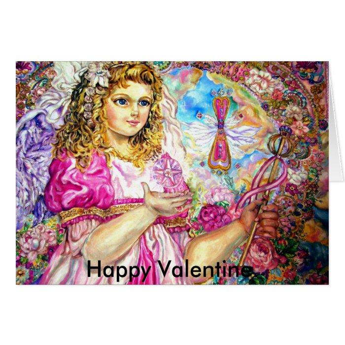 The angel of the sirloin quartz clock., Happy V... Card