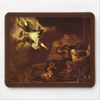The Angel Raphael Leaving The Family Of Tobit Mousepad