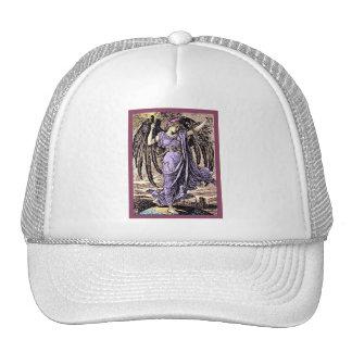 The Angel ~ Vintage Art Nouveau Print Trucker Hat