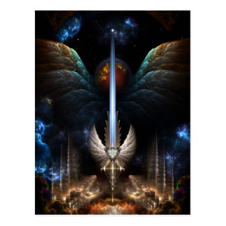 The Angel Wing Sword Of Arkledious IMW Post Card