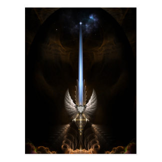 The Angel Wing Sword Of Arkledious Postcard